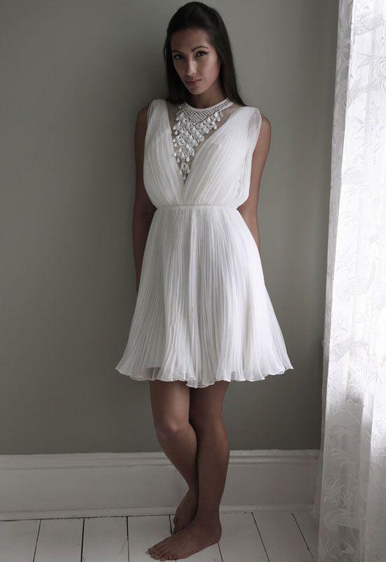 Cream Vintage Wedding Dress