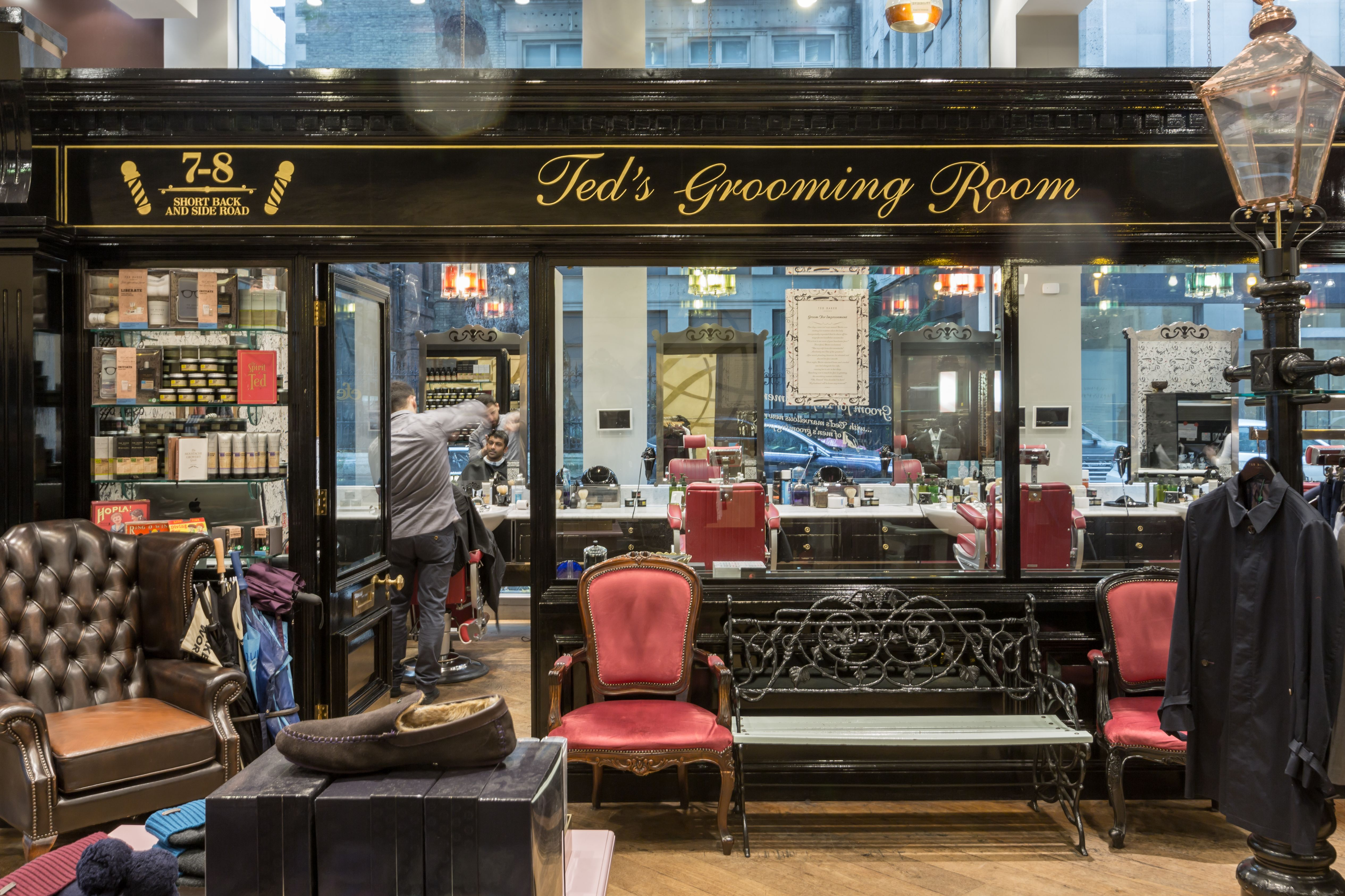 Ted S Cheapside Store Lies Within The Unique Ted Baker Friends