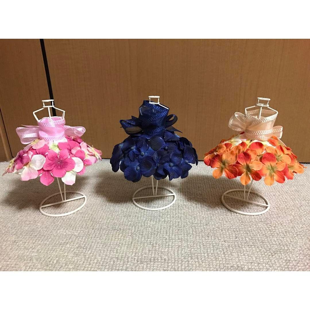 d4db567fe 100円材料で手作り出来る♡カラードレス色当てクイズに「ミニトルソー」を使うのが可愛すぎ♩   marry[マリー]