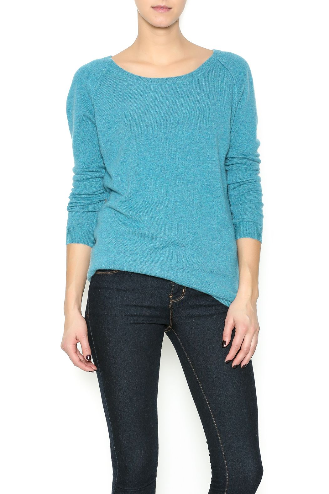Boat neck pull over sweater with a key hole back.   Pull Over Sweater by Not Shy. Clothing - Sweaters Eastern Shore, Baltimore, Maryland