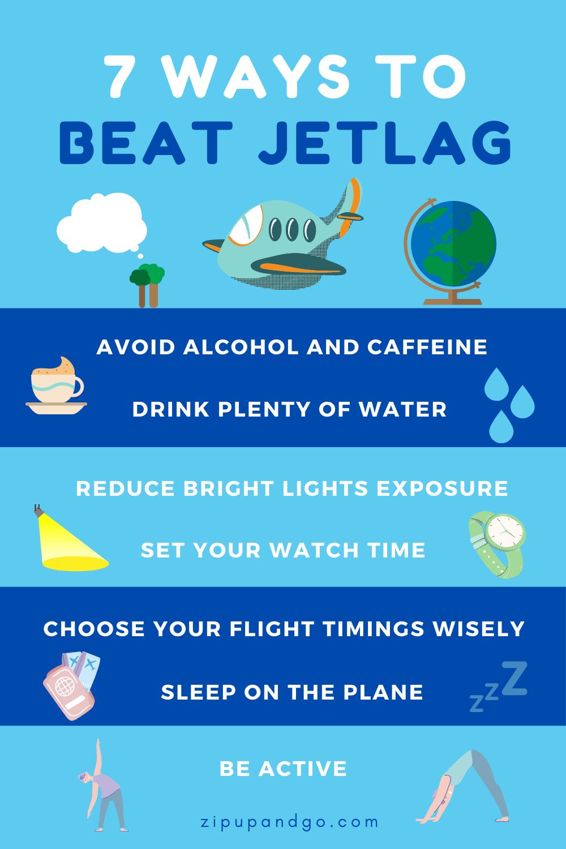 كيف تتغلب على Jet Lag أو اختلاف التوقيت في السفر The Travel Guide Online