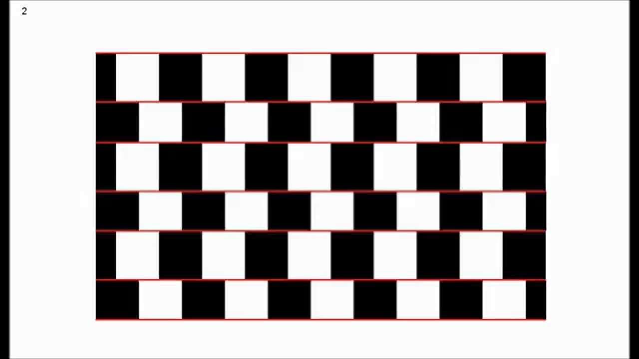 8 Optical Illusions In Curves And Lines