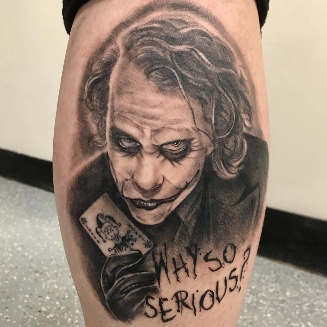 Photo By Inkjecta On Instagram Joker Jokertattoo