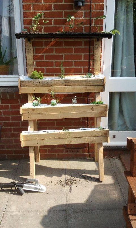 Herb garden | Funky junk, Decor