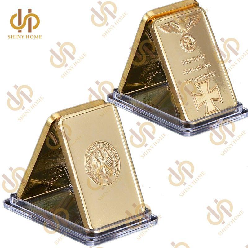 1937 Deutsche Reichsbank 999 1000 Gold Bar With Germany National Emblem Eagle Gold Bar Gold Bullion Bars Gold Bullion
