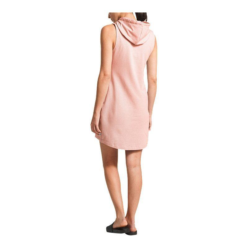 b06beed57 The North Face Women's Bayocean Sleeveless Hooded Dress - Pink ...
