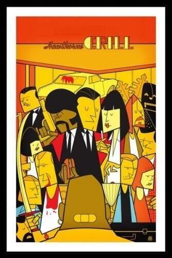 Pulp Fiction ilustrado