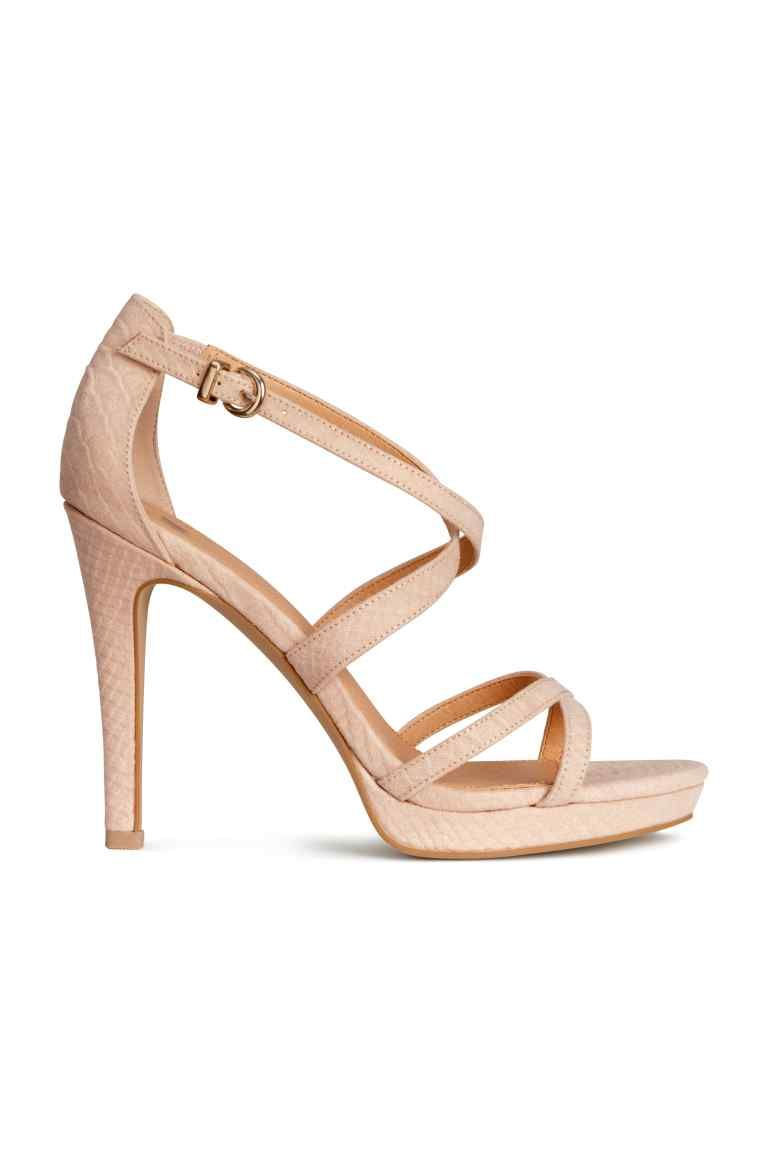 SandałyH À amp;m Femme TalonsChaussures Noszenia Sandales Do UpSMVzq