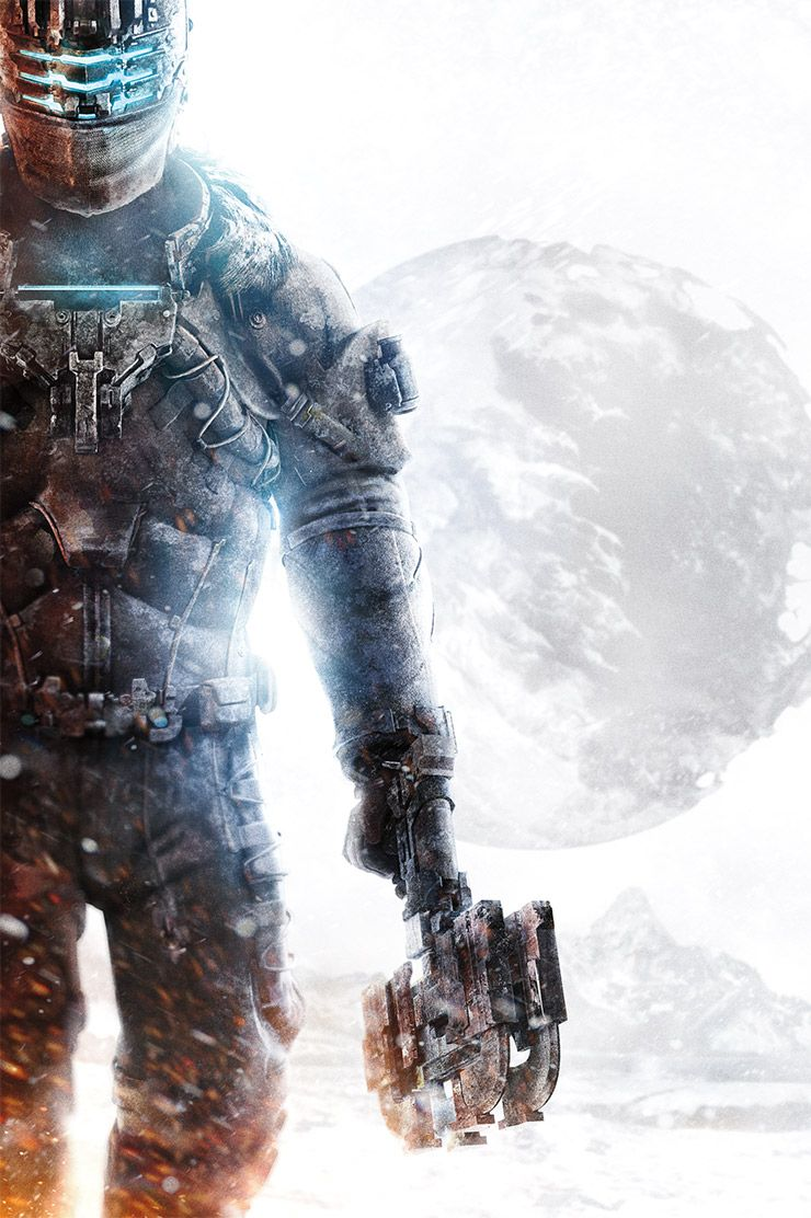 Awesome artwork for Dead Space 3.