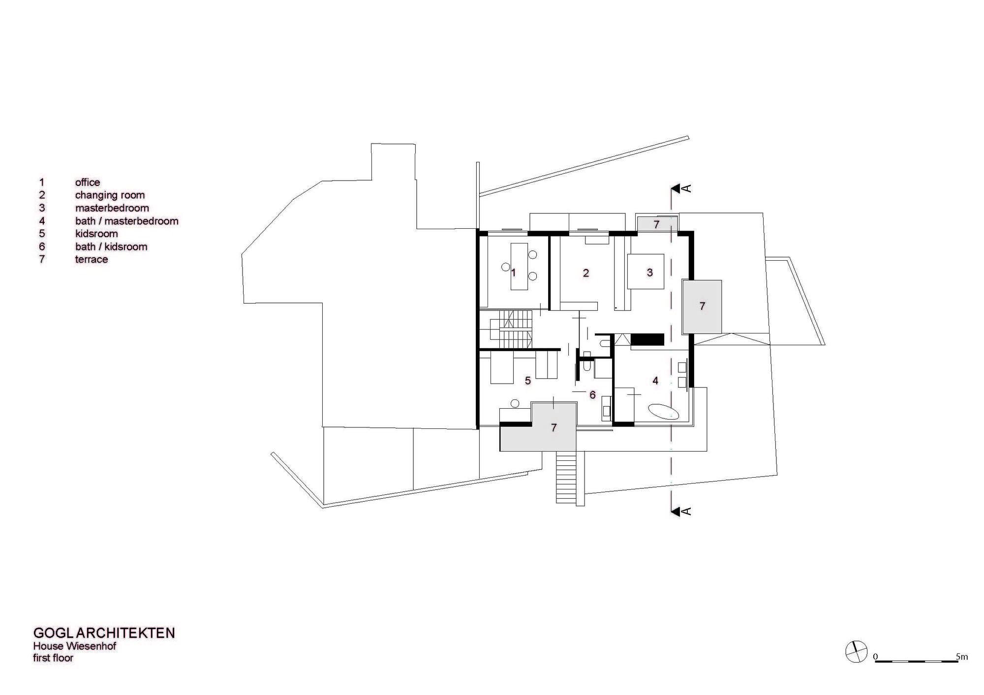 Gallery of haus wiesenhof gogl architekten 17 haus for Haush dizain