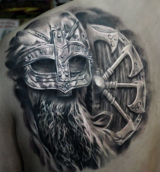 Viking tattoo tattoo pinterest - Tatouage rune viking ...