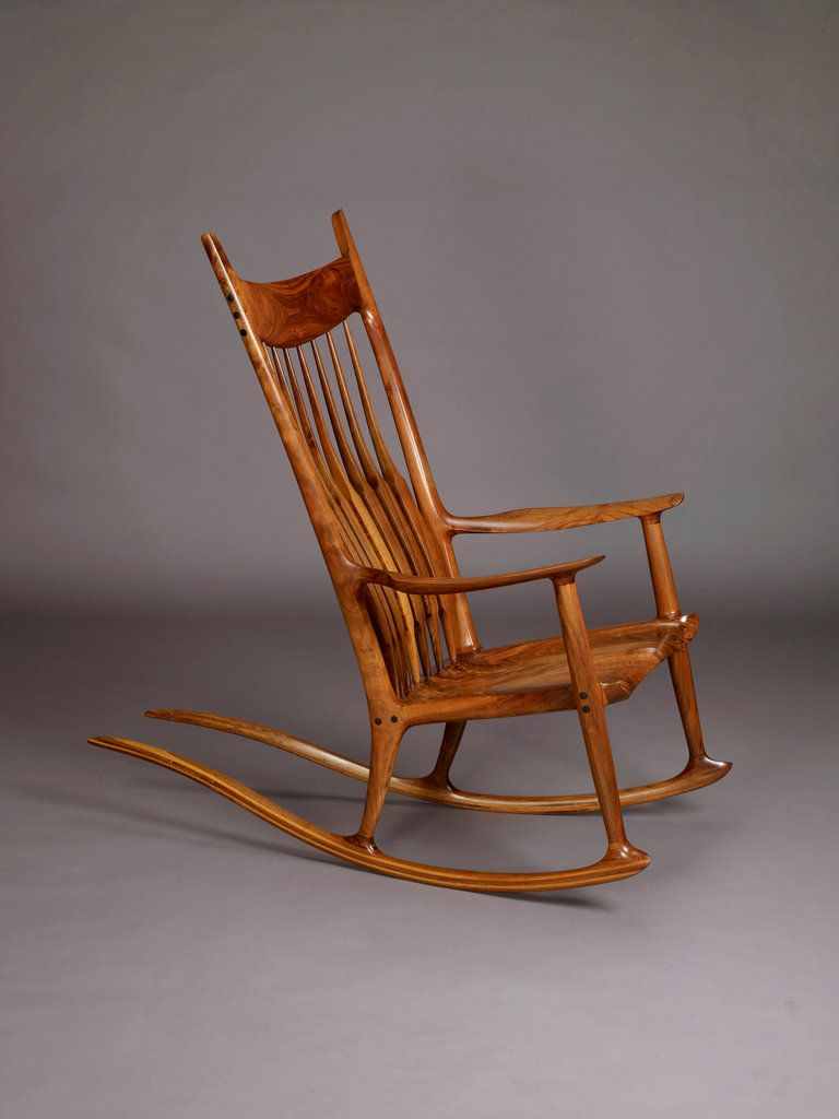 Amazing Sam Maloof Rocking Chair Wonderfully Crafted Rocking Chair Ibusinesslaw Wood Chair Design Ideas Ibusinesslaworg