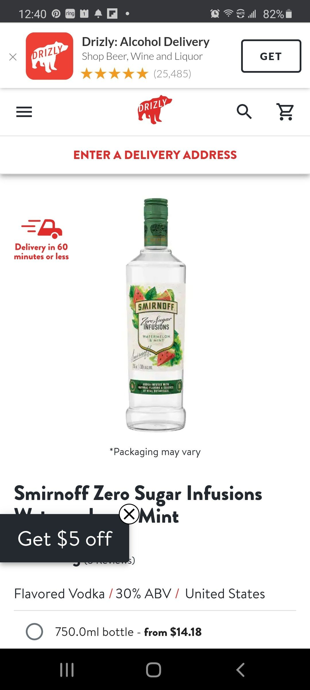 Pin By Laurie Bonomo On Low Carb And Keto Recipes Flavored Vodka Wine And Liquor Smirnoff