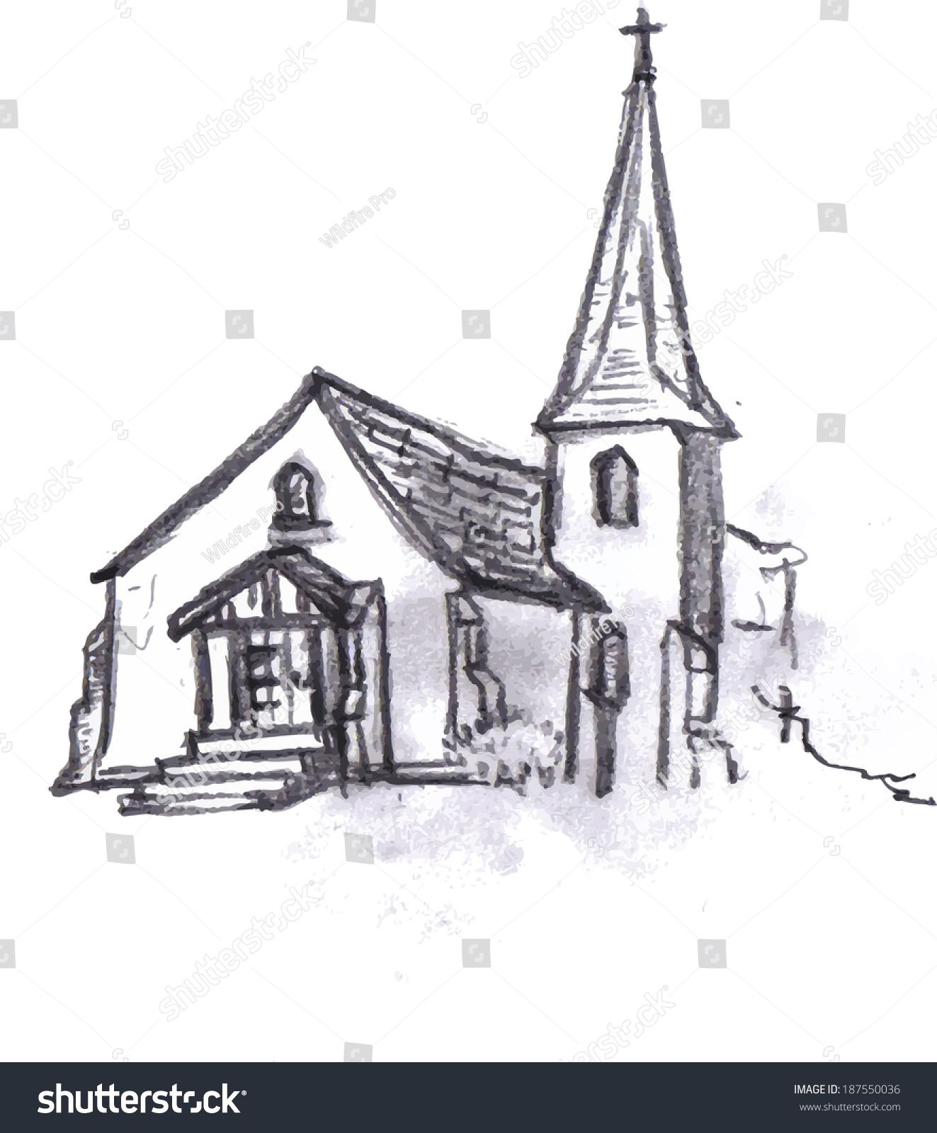 Sketches of churches