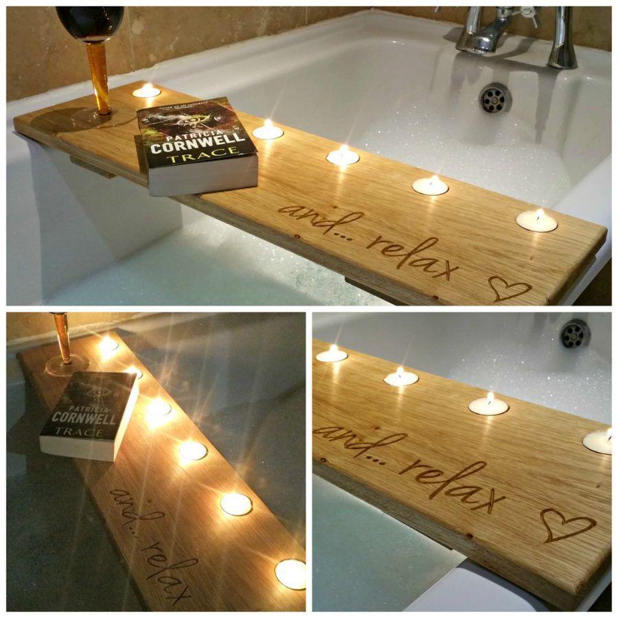 Designs: Appealing Bathtub Caddies Home Depot 21 Oak Bath Caddy More ...