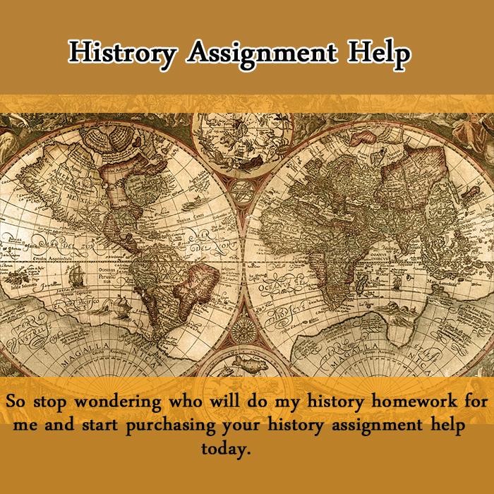 History homework help online