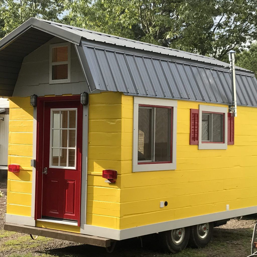New 2017 The Yellow Finch Model Tiny House Listings