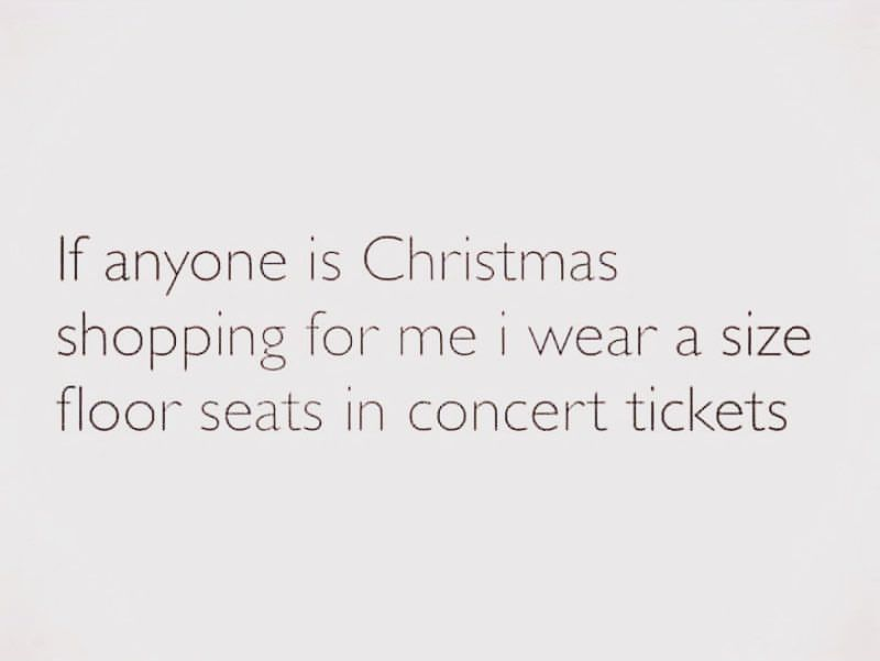 Just A Early Heads Up Kiss Fm Concert Tickets Christmas Shopping