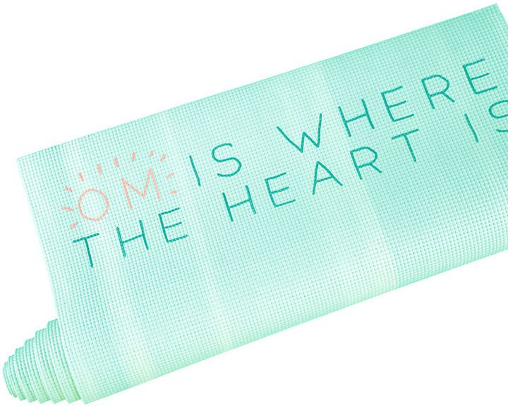 latest sale unbeatable price many choices of FOREVER 21 Om Yoga Mat | Health | Yoga, 21st, Forever 21