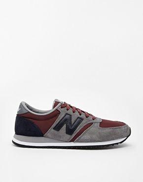 new balance 420 bordeaux et gris