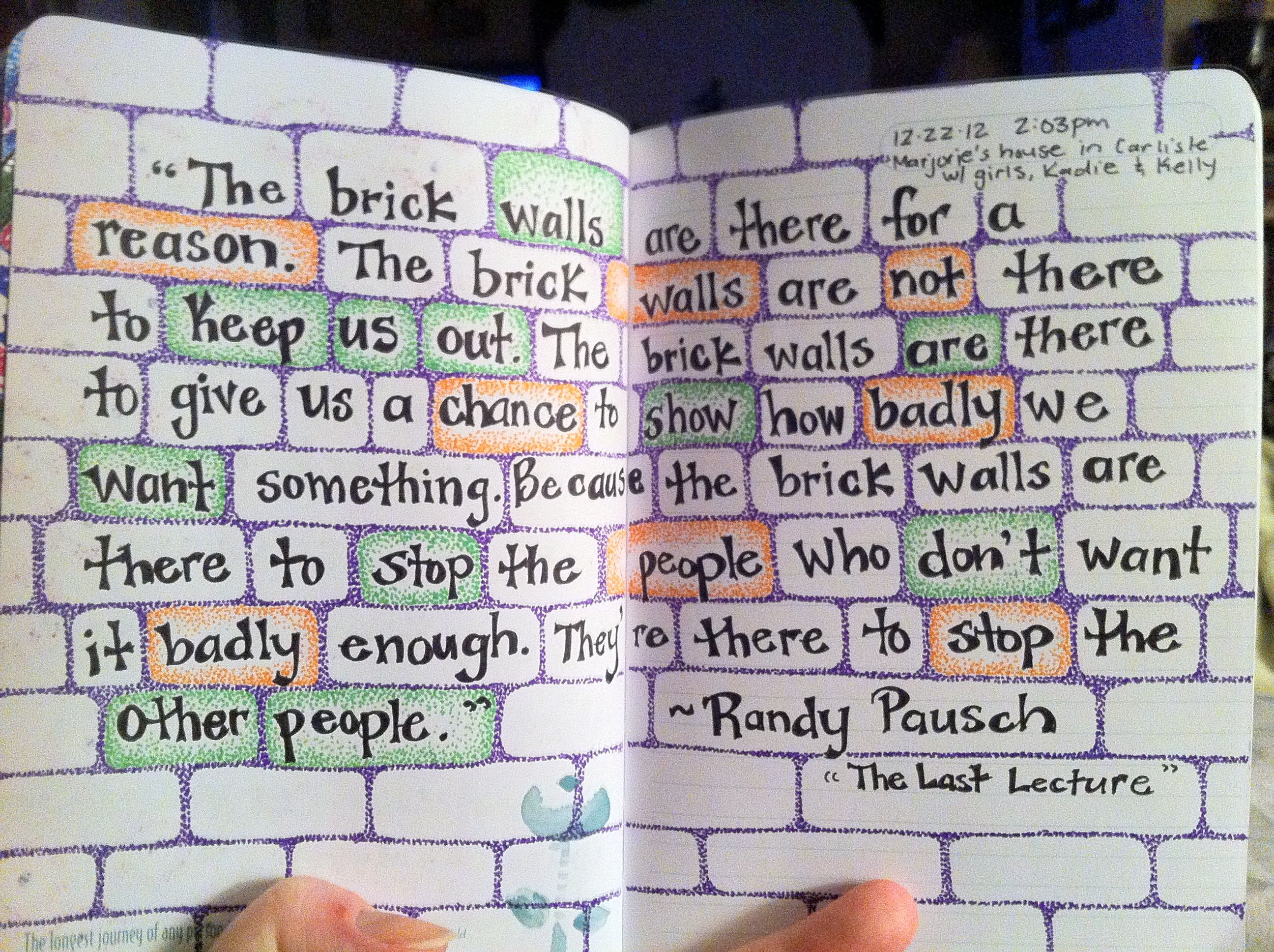 Randy Pausch Quotes About Life. QuotesGram