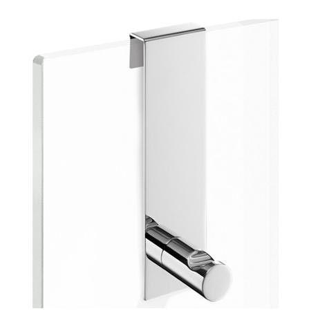 Zack Bathroom Mirrors zack - scala hook for frameless glass shower enclosures - 40089