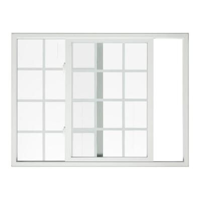 Jeld Wen V 2500 Series Left Hand Sliding Vinyl Window 8a0604 The Home Depot Window Vinyl Sliding Vinyl Windows Jeld Wen