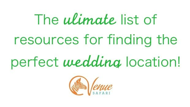 List of little known sites for finding the PERFECT wedding venue