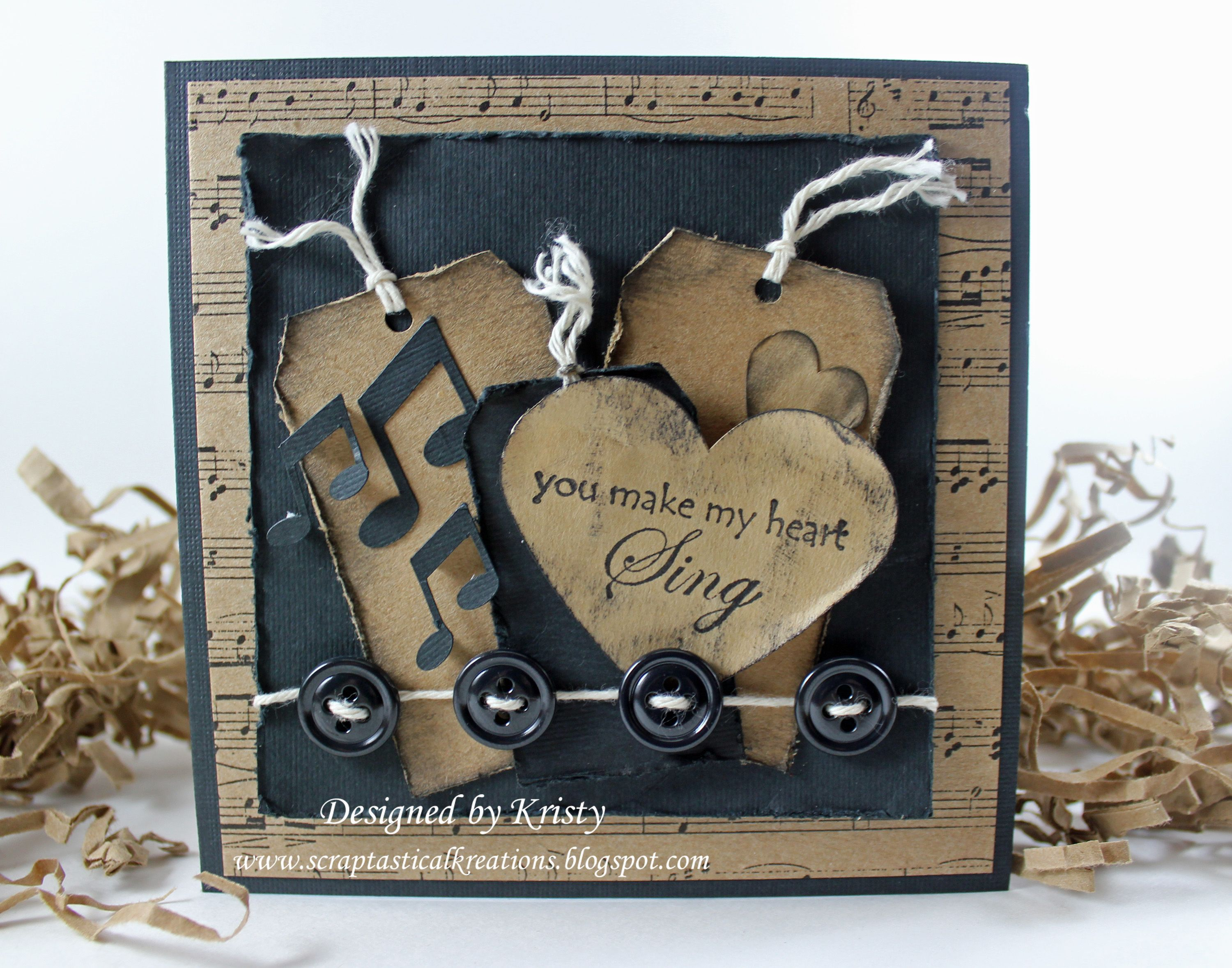 Godmother Quotes For Scrapbooking Quotesgram: You Make My Heart Sing - Scrapbook.com