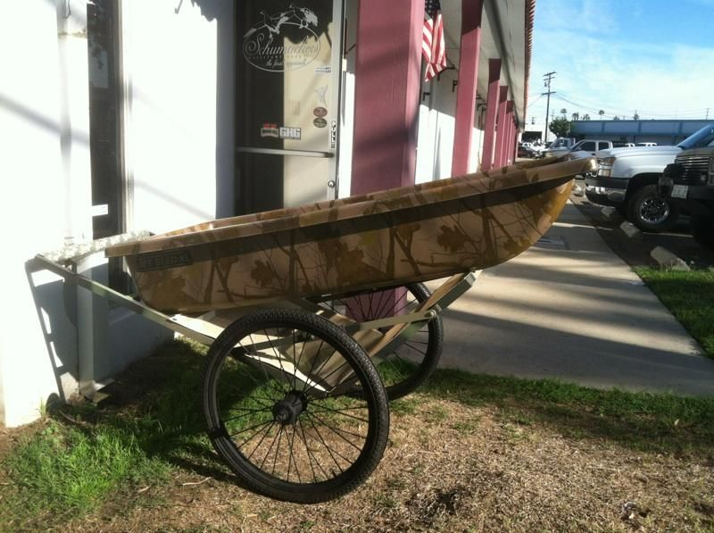 sled with cart | Duck Hunting | Duck decoys, Duck blind