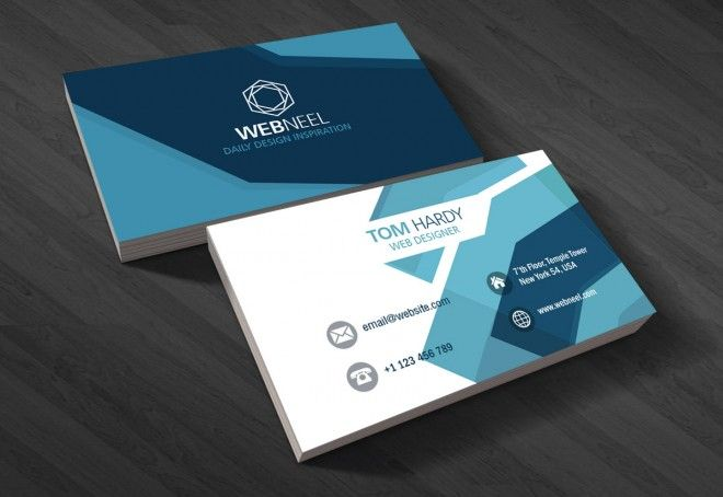10 Professional Free Business Card Templates With Source Files