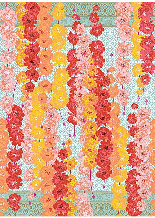 Marigolds Wrapping Paper