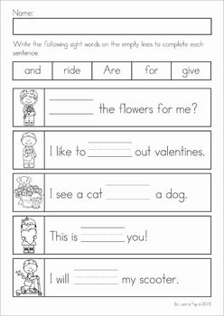 valentine 39 s day math literacy worksheets activities no prep my tpt products literacy. Black Bedroom Furniture Sets. Home Design Ideas