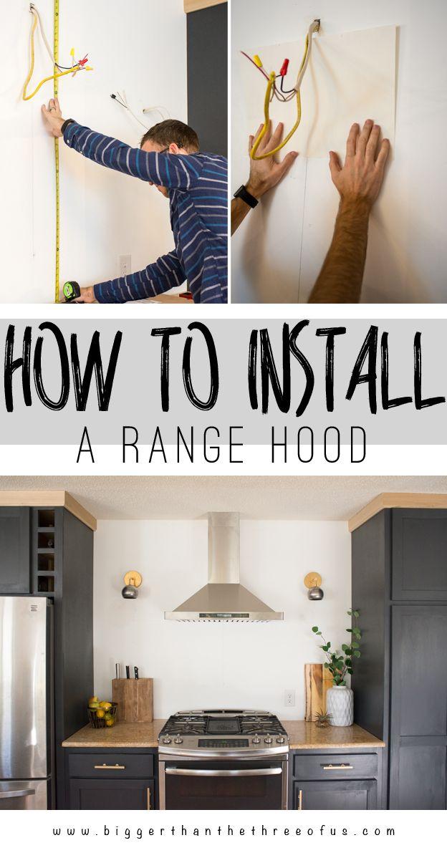 ductless range hood kitchen