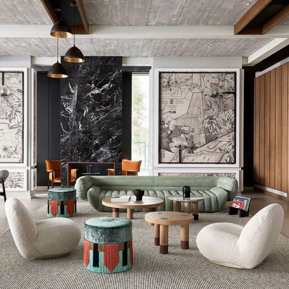 Mid Century Modern French Abitare Design Blog In 2020 Interior Design House Interior Contemporary Furniture Design
