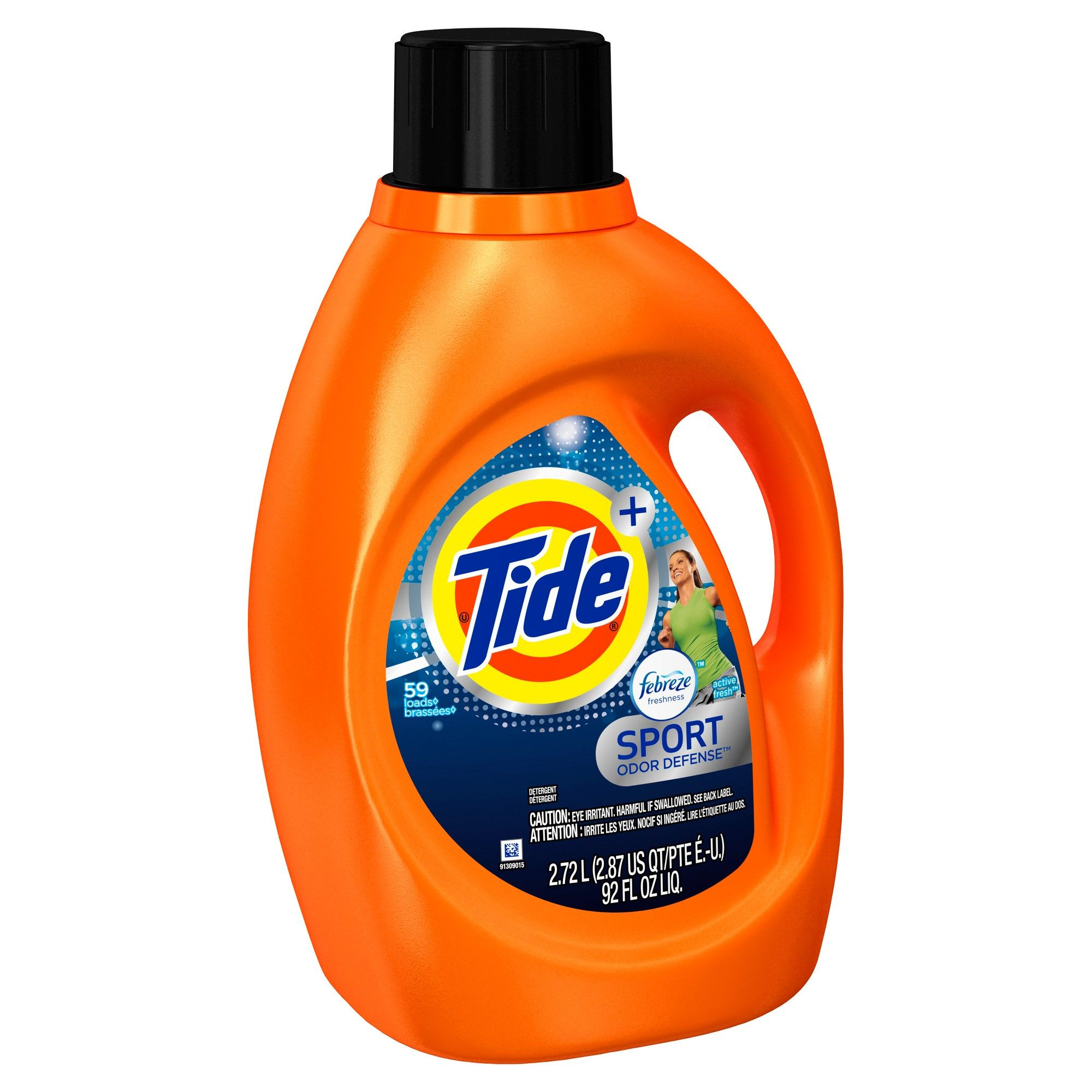 Tide Plus Febreze Sport Active Fresh Liquid Laundry Detergent 92