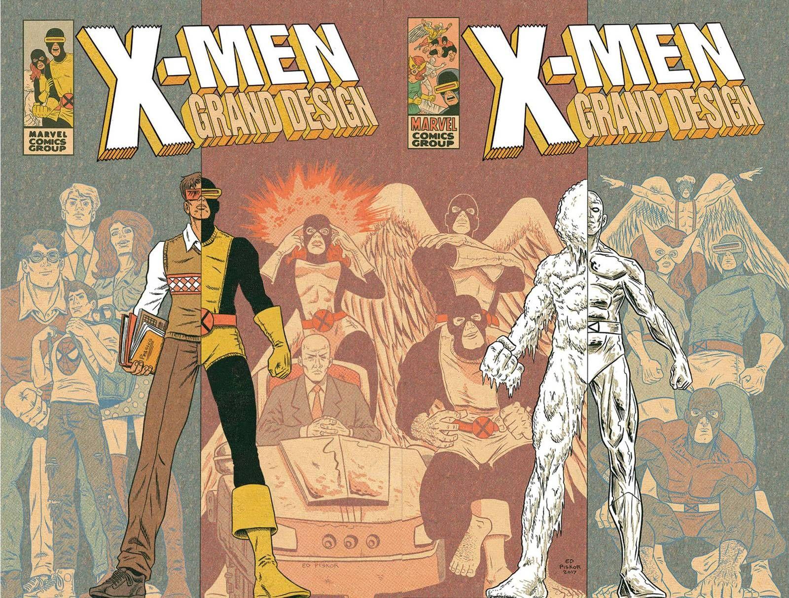 In X Men Grand Design Ed Piskor Tells The Superheroes Whole Story Grand Designs Comics X Men