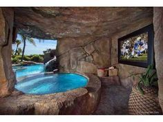 cool pools with caves google search
