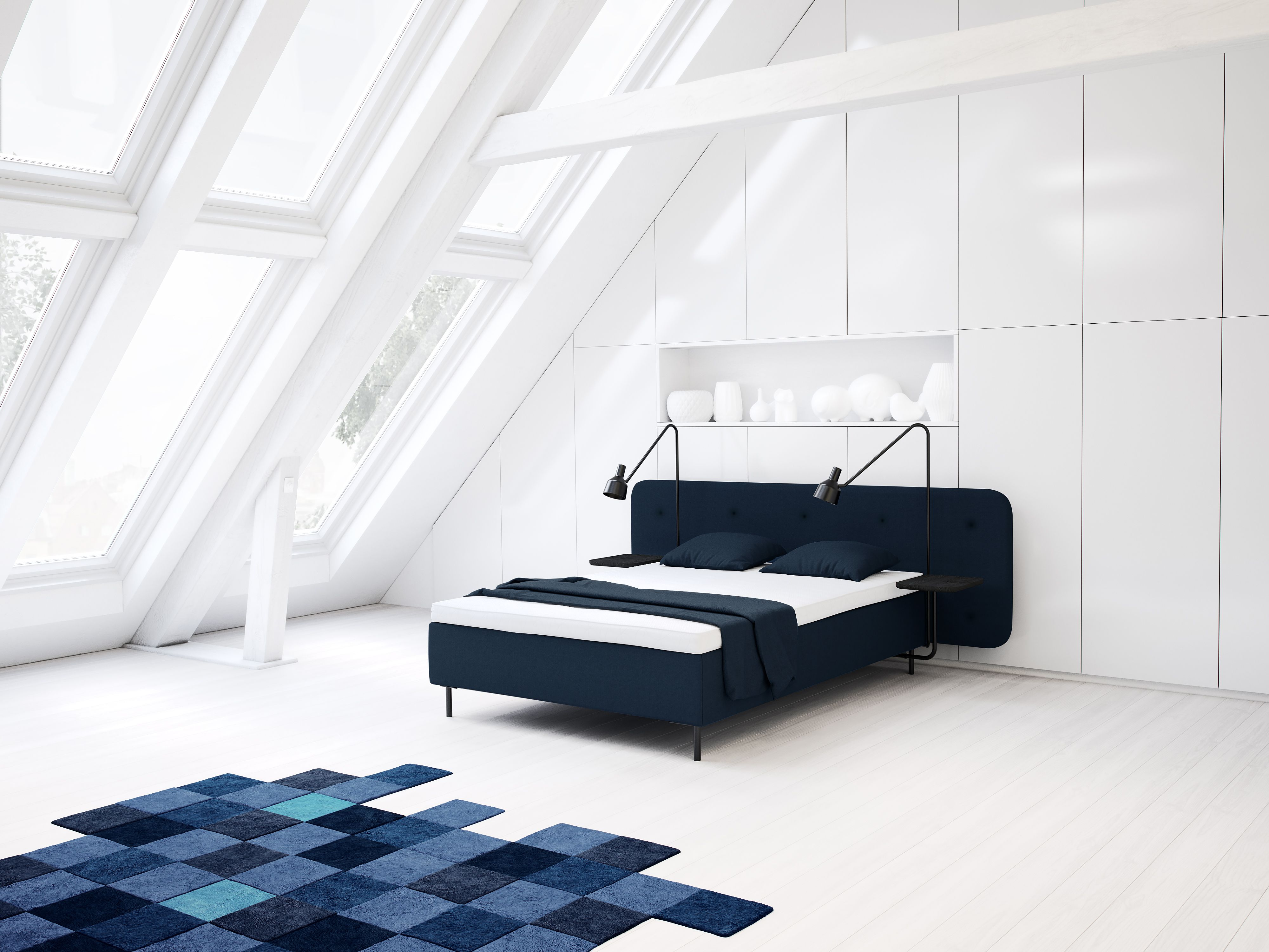 Bett Jensen Nordic Line Supreme Jensen Betten Bett Bett Ideen