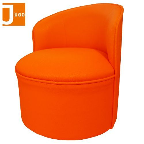 Exceptionnel Jugo Children Comfy Roundy Leather Sofa Armchair (Orange)   Listing Price:  $99.00 Now: $48.95