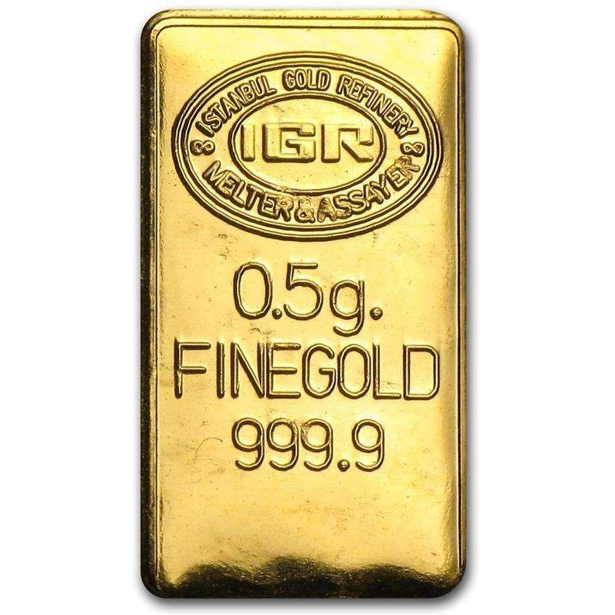 1 2 Gram Gold Bar Random Gold Bar Gold Bars For Sale Gold