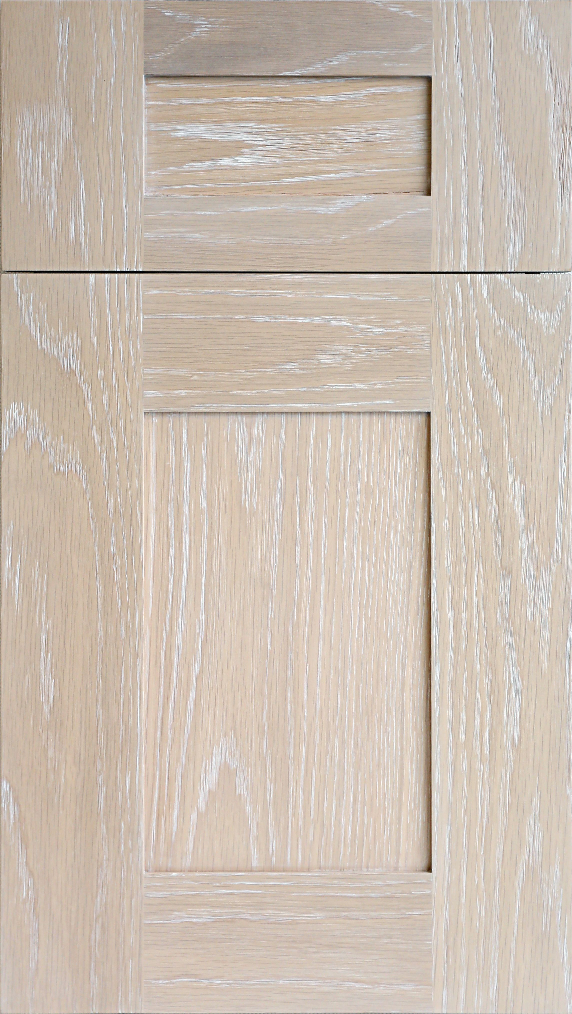 Meridian WR door in plainsawn white oak in driftwood stain