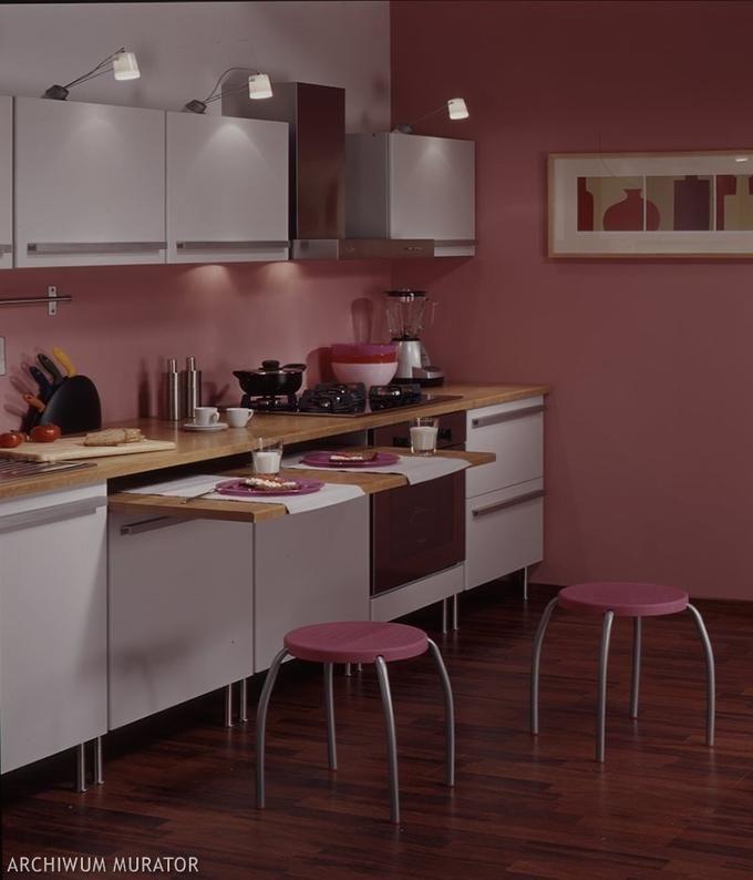 Mała Biało Różowa Kuchnia Home And Garden Kitchen Home
