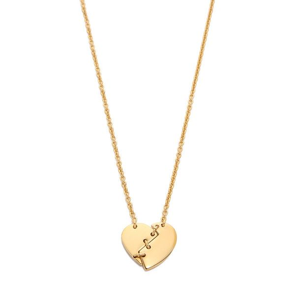 Marc by marc jacobs broken hearted pendant necklace 68 liked marc by marc jacobs broken hearted pendant necklace 68 liked on polyvore featuring jewelry necklaces oro heart shaped pendant necklace gold plated mozeypictures Images