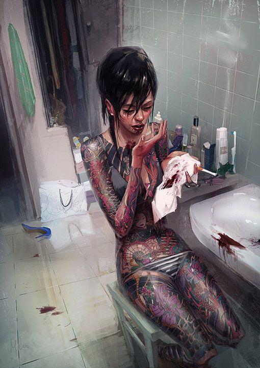 A arte de Michal Lisowski   Haznos - Do Jeito que o Diabo gosta