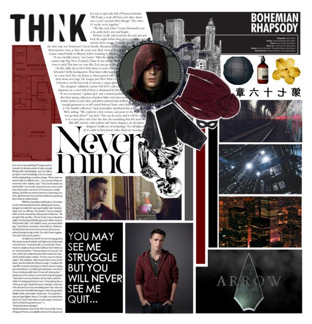"""""""Roy Harper"""" by whereisnet ❤ liked on Polyvore featuring art"""