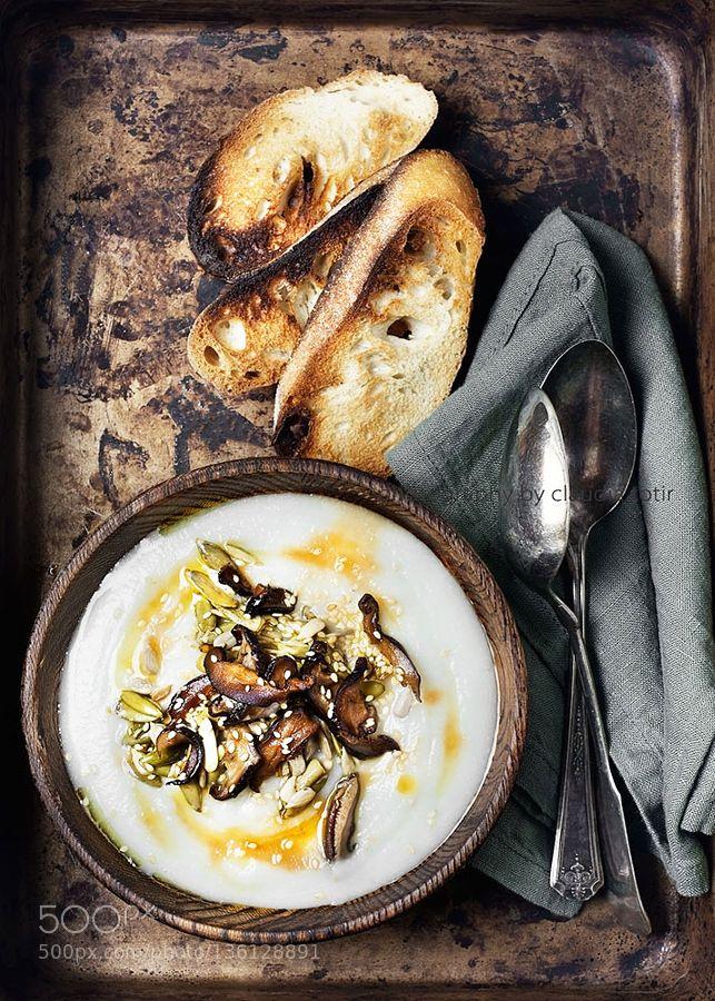 Cauliflower Soup By Ctotir2000 Food Creamy Cauliflower Soup