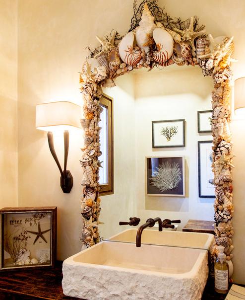 101 Beach Themed Bathroom Ideas #mermaidbathroomdecor