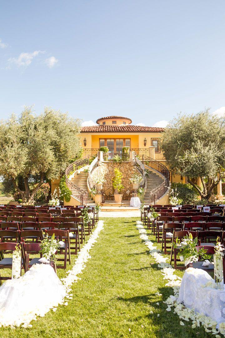 Calipaso Winery And Villa Paso Robles Ca Wedding Locations