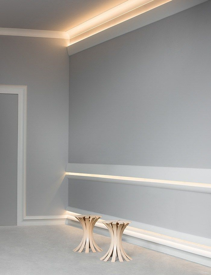 Diy Crown Molding For Indirect Lighting Aging In Place